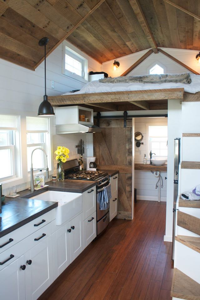 Tiny Home Designs: The Modern Farmhouse Tiny Home