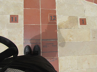 שעון שמש מוזיאון ארץ ישראל