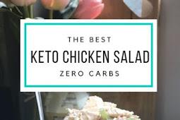 Keto Baked Chicken Salad Recipe
