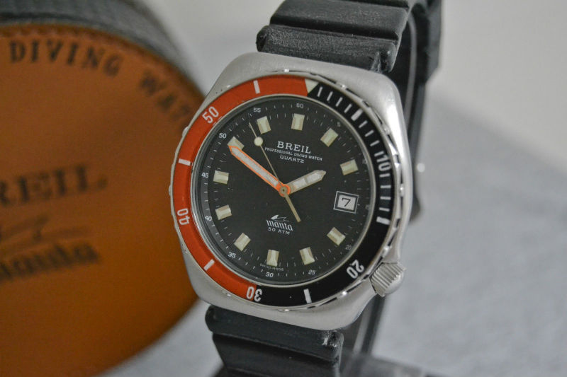 Underwatertimeblog breil manta professional diving watch - Dive anni 40 ...