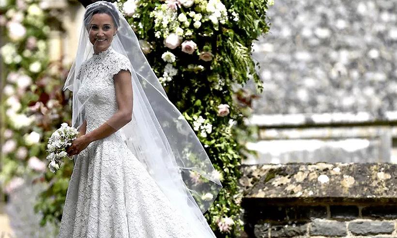 bc75d184 ¿Quieres un vestido de novia como el de Pippa? H&M lo tiene por menos de  180€ ¡Mira aquí!