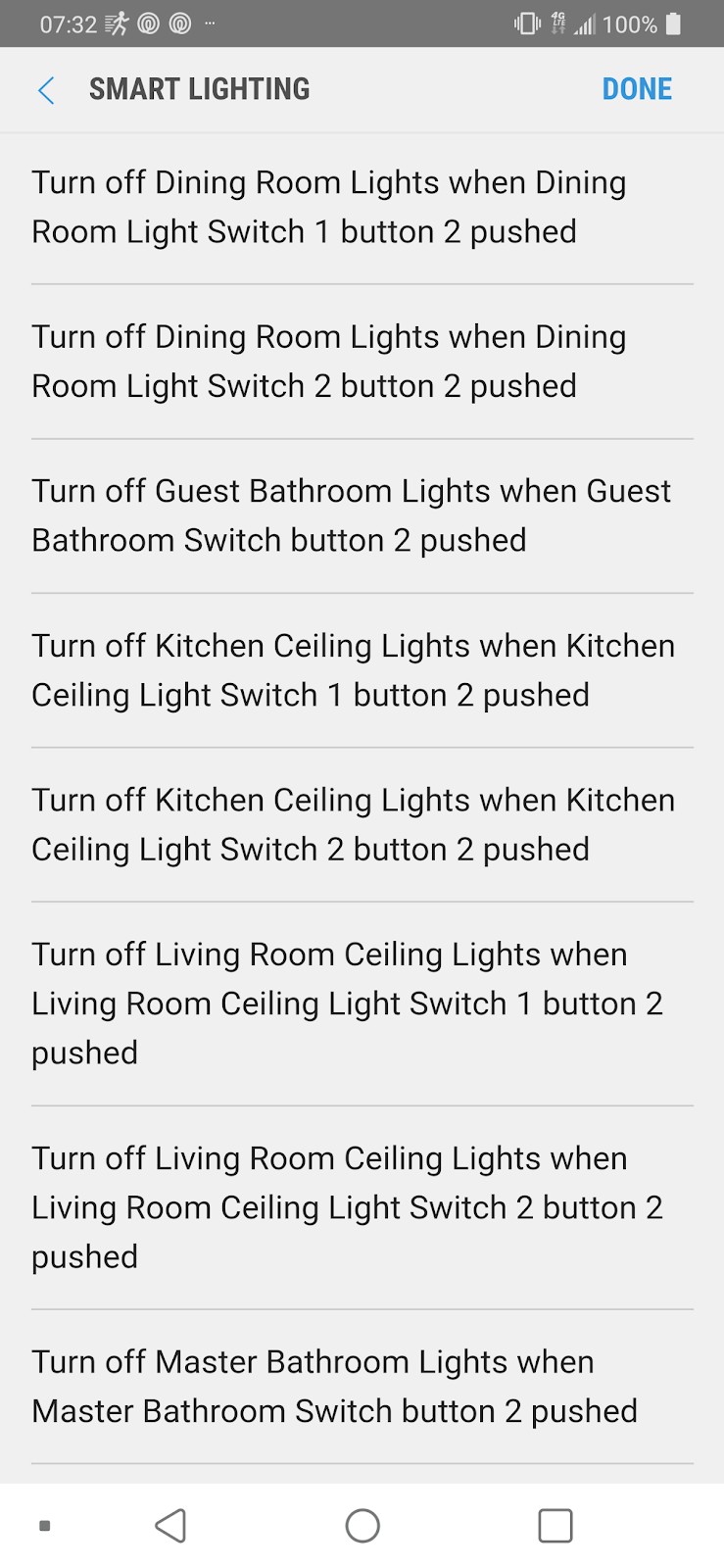 SmartThings Automations | Home Automation Stuff