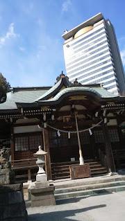 多摩市の白山神社