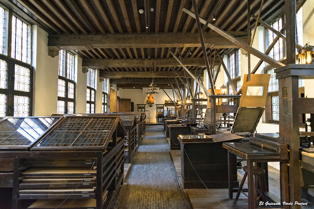 Museo Imprenta Plantin Moretus - Amberes, por El Guisante Verde Project