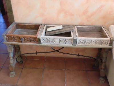 Recuperar una mesa Antigua