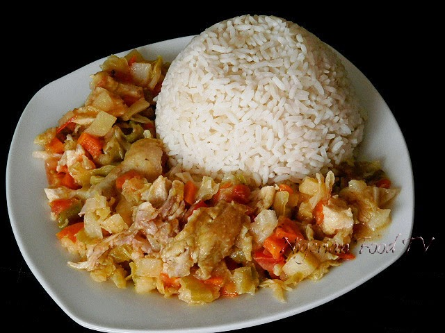 Nigerian Mixed Vegetable Sauce (white sauce), nigerian food tv, nigeian food recipes
