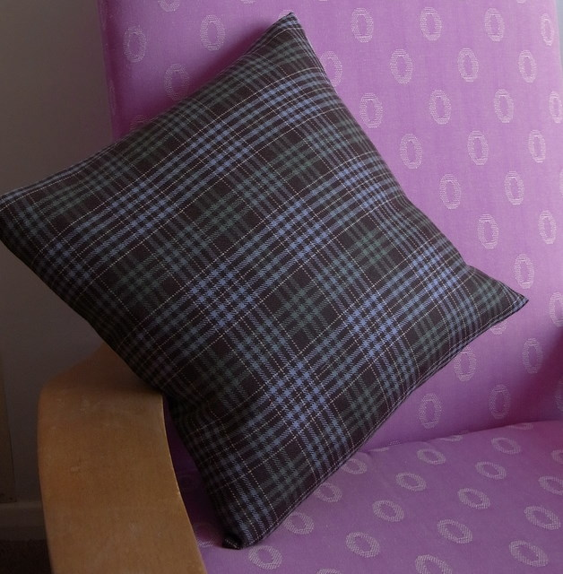 Potty About Patterns: Cushion With Swallow Print