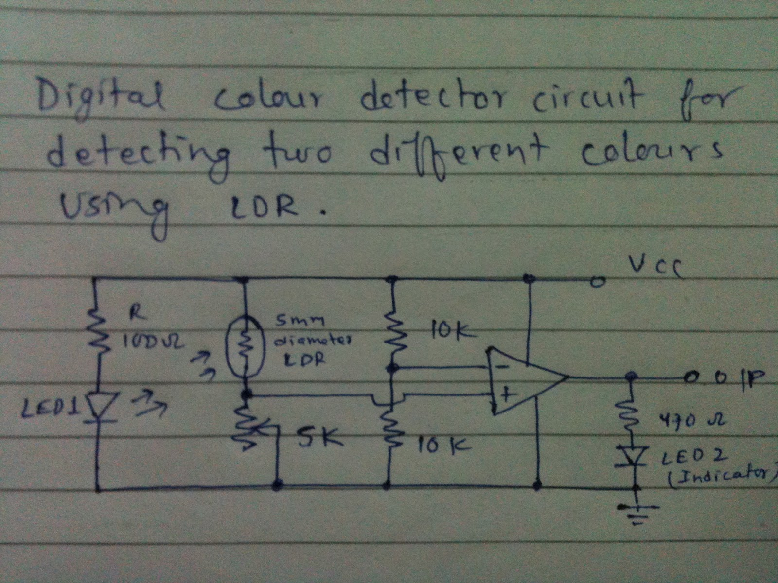 Figure 5 Light Dependent Resistor In Voltage Divider Circuits