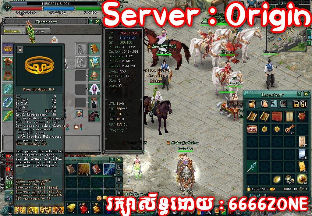 "<p align=""center""> <b>SZ  Level  85 , Moon 1 set , 8sq , box 222 , agilimove 9 lv  </br>Server : Origin  </br> ឈ្មោះ HERO : Mickey </br></br> តំលៃ : 27 $  </br></br> ( តំលៃអាចចចារបាន )</br></br> **ចុចលើរូបខាងលើ ដើម្បីលំអិត**</b></p>"