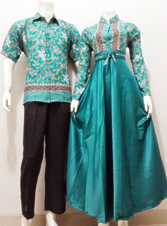 Model Gamis Batik Sarimbit Kode Srg83