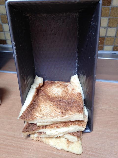 Kastenform Zimtbrot süßes Brot Rezept