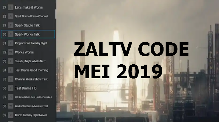 ZalTV Activation Code Mei 2019 Update - Terbantu com
