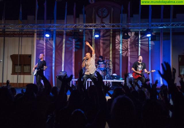 Los Salvapantallas conquistan la Noche Joven de Fuencaliente