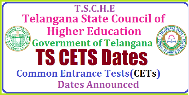 Telangana CETs Exam Schedule 2019-20 @ www.tsche.ac.in TS CETs Dates 2019 | TSCHE Entrance Tests Dates 2019 | TS Entrance Exams Dates 2019 | TSCHE Telangana State Council of Higher Education CETS 2019 | TSCHE -TS CETs dates 2018 Telangana Entrance Tests TSCETs Dates / Schedule 2019 | Telangana Exam Dates 2019: All CETs Dates, Notification Links | TS CETs 2019 – Exam Dates | Telangana CETs Exam Schedule 2019-20 @ www.tsche.ac.in | TELANGANA STATE ANNOUNCES EXAM DATES FOR CETS 2019 Telangana-TS-CETs-Common-entrance-Tests-dates-Exam-Schedule-tsche-.ac.in/2019/01/Telangana-TS-CETs-Common-entrance-Tests-dates-Exam-Schedule-tsche-.ac.in.html