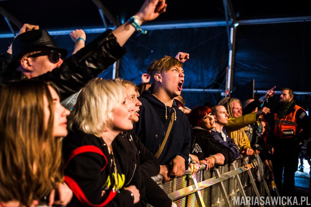 Rytmihäiriö Provinssi Festivaali 2015 Seinäjoki gambina crowd fans