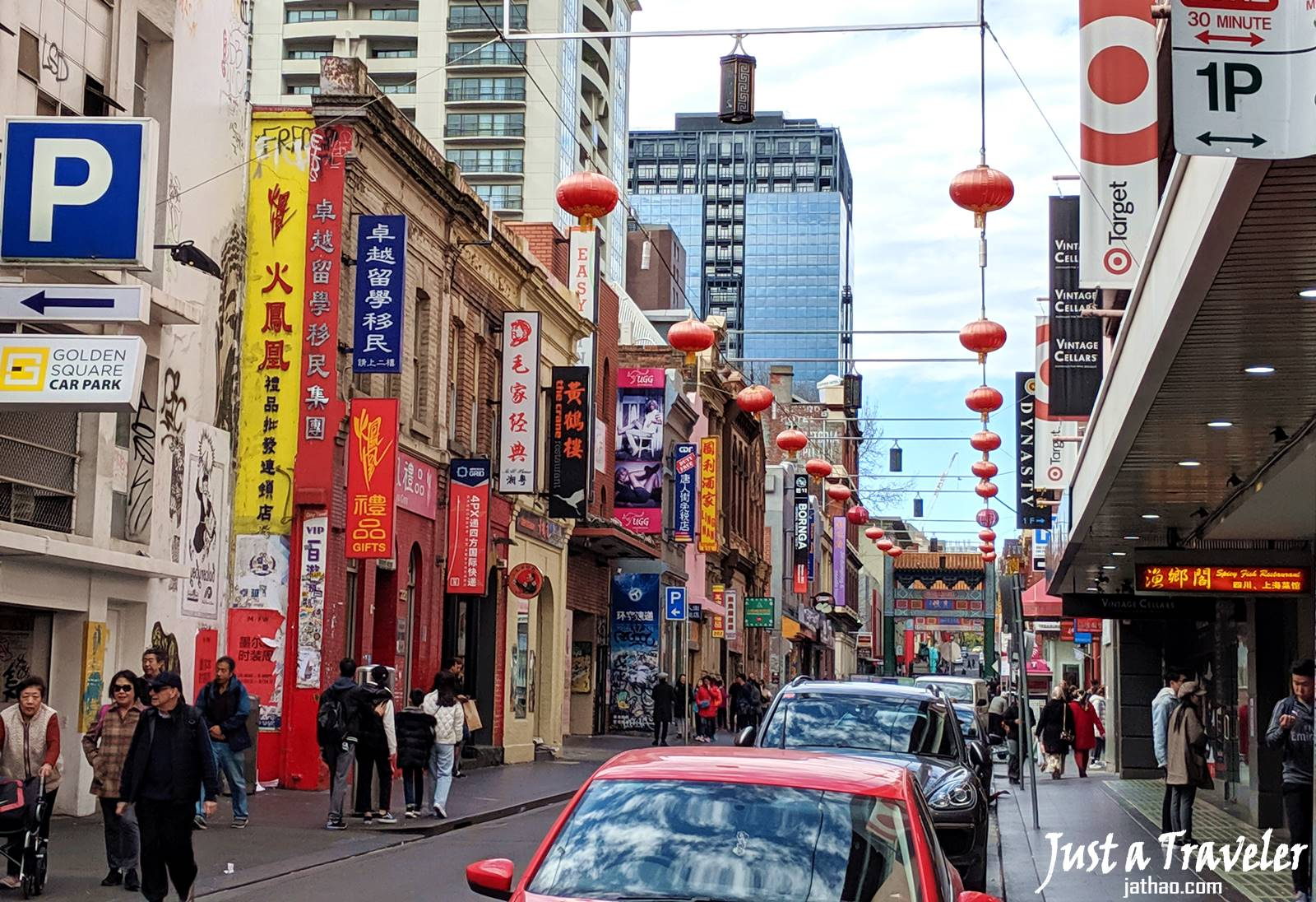 Melbourne-Chinatown Melbourne-CBD-Attraction-Recommendation-Map-Itinerary-Tourism-Independent Travel-Travel Blog-Must visit-Must See