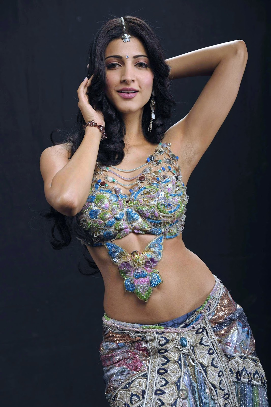 Beauty Galore Hd  Shruti Hassan Hot Navel Pierced Photos -7064