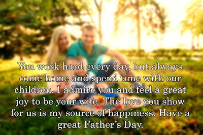 Happy Father's Day 2017 Quotes for Husband