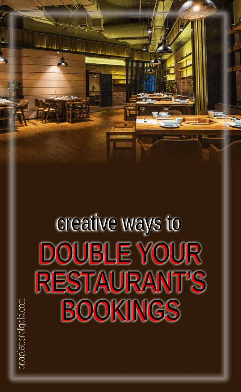 Clever Ways To Attract New Customers and Double Your Restaurant's Bookings