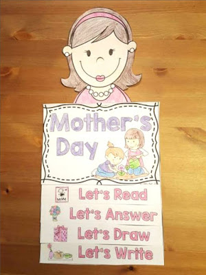 Mother's day ideas for kids- sending home hands-on crafts as gifts for mother's day- quick and easy activities