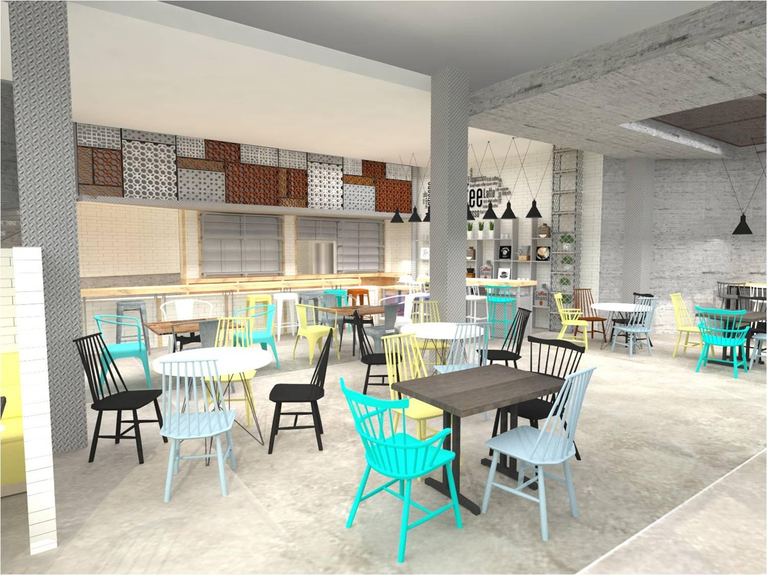 Dise o de interiores escuela de arte de motril cafeter a for Escuela de decoracion de interiores