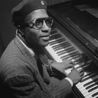 Portrait of Thelonious Monk, Minton's Playhouse, New York, N.Y., ca. Sept. 1947 [by photographer William P. Gottlieb]