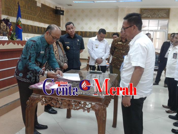 Tingkatkan Kualitas Pelayanan Pablik, Pemda Pesawaran- Ombudsman RI Teken MoU