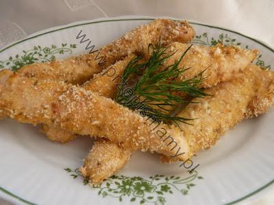 Filet z kurczaka pieczony w panierce z krakersów