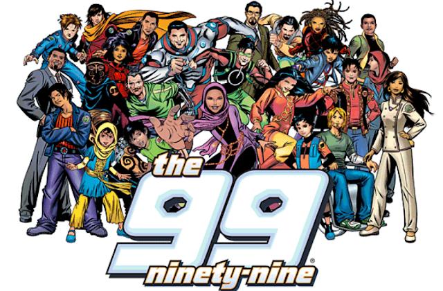 The 99, Superhero Muslim Berkonsep 99 Nama Tuhan