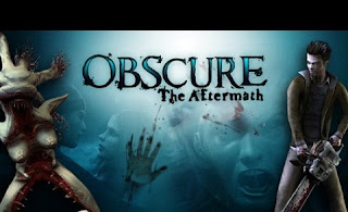 Logo-marca jogo Obscure The Aftermath 2008 Ps2 Playstation 2