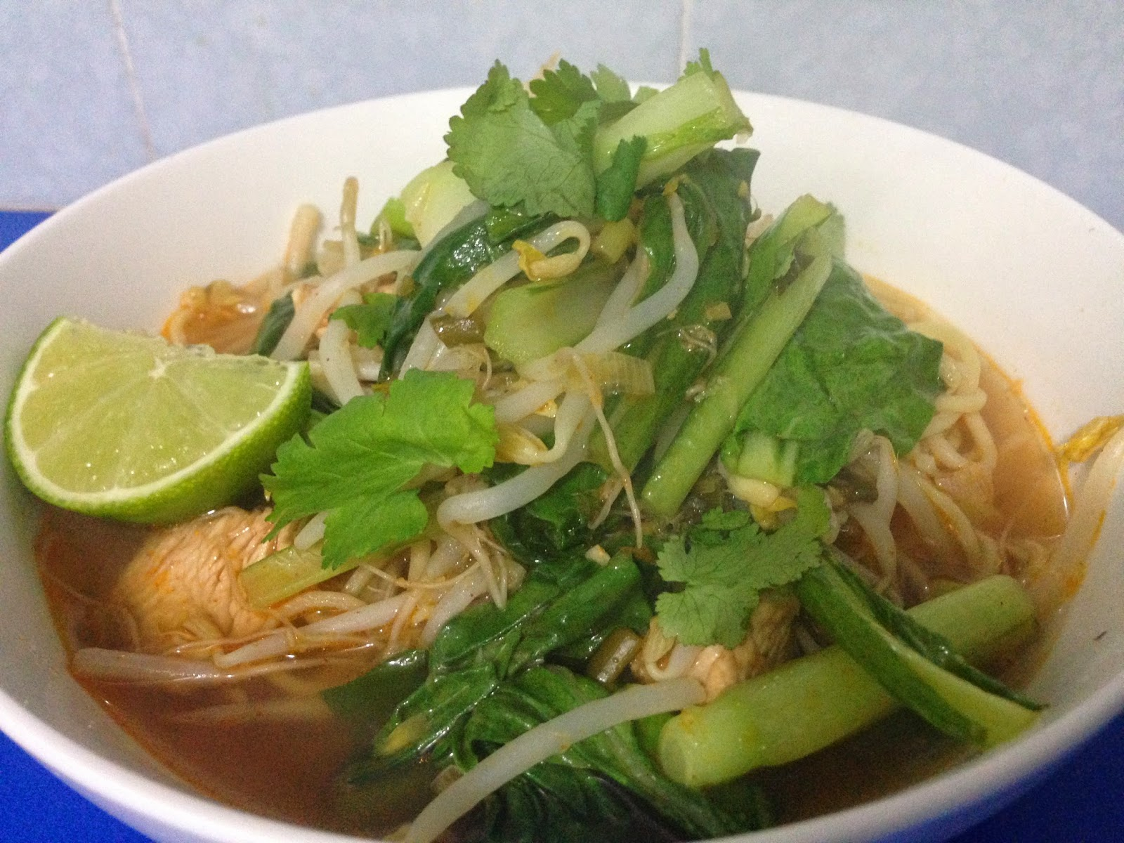 salt sugar and i: Nigella Lawson's Vietnamese Noodle Soup