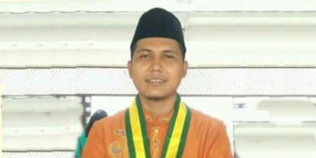 Ketua DKP KNPI Kecamatan Rambah Samo, Andhika