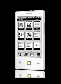 E43 - smartfon Onyxa z Androidem 2.3
