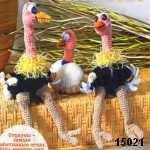 patron gratis avestruz amigurumi, free pattern amigurumi ostrich