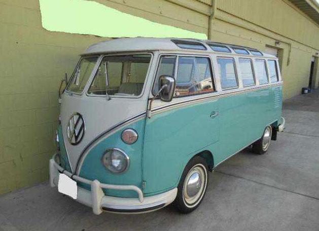 vw bus deluxe  window vw bus