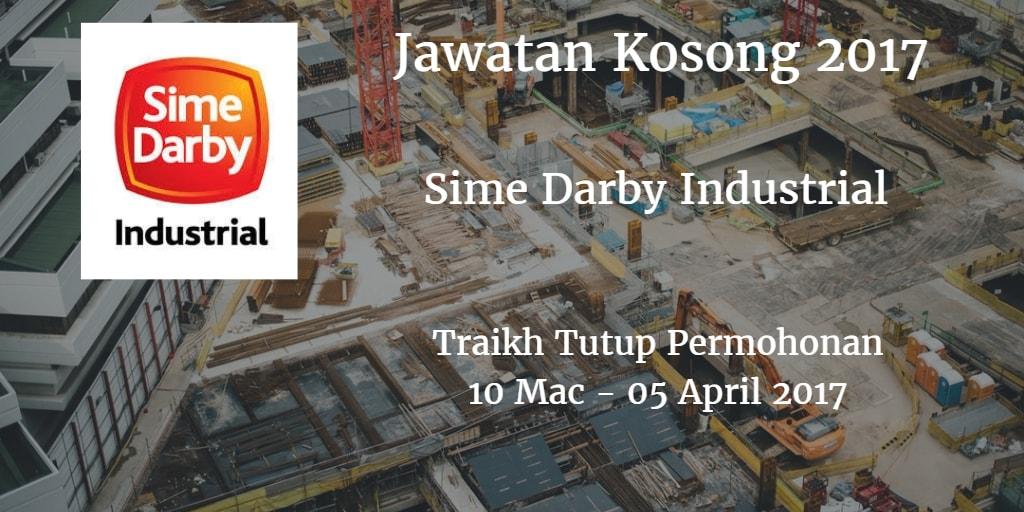 Jawatan Kosong Sime Darby Industrial 10 Mac - 05 April 2017