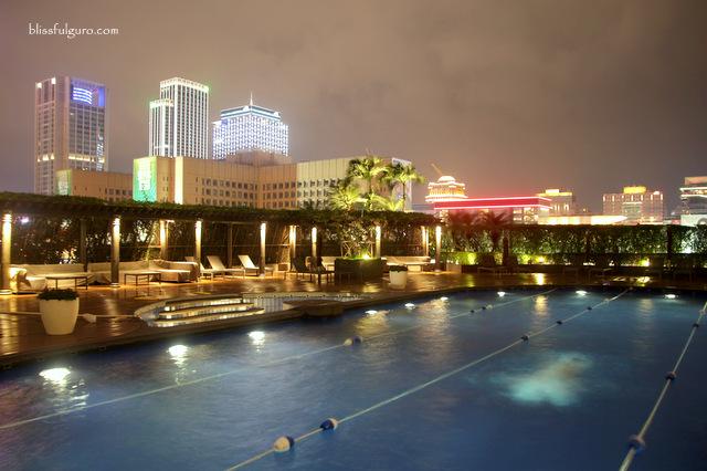 Grand Hyatt Taipei Heated Pool