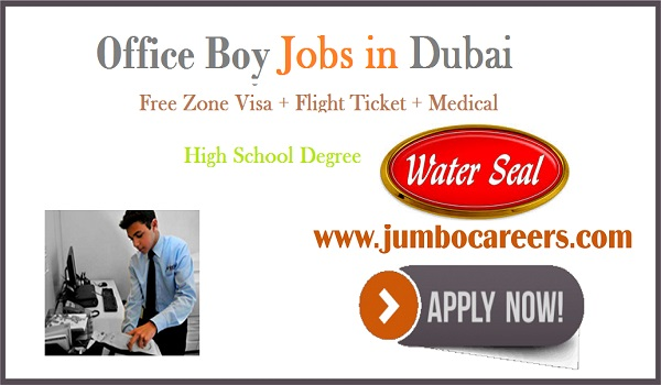 Free Zone visa jobs in UAE, Gulf jobs with salary and benefits 2018,