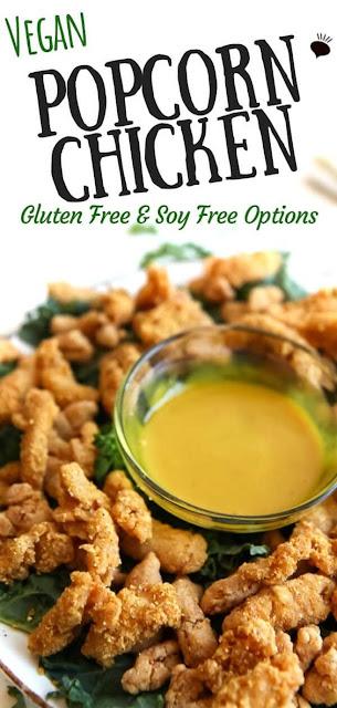 Vegan Fried Chicken - Popcorn Chicken