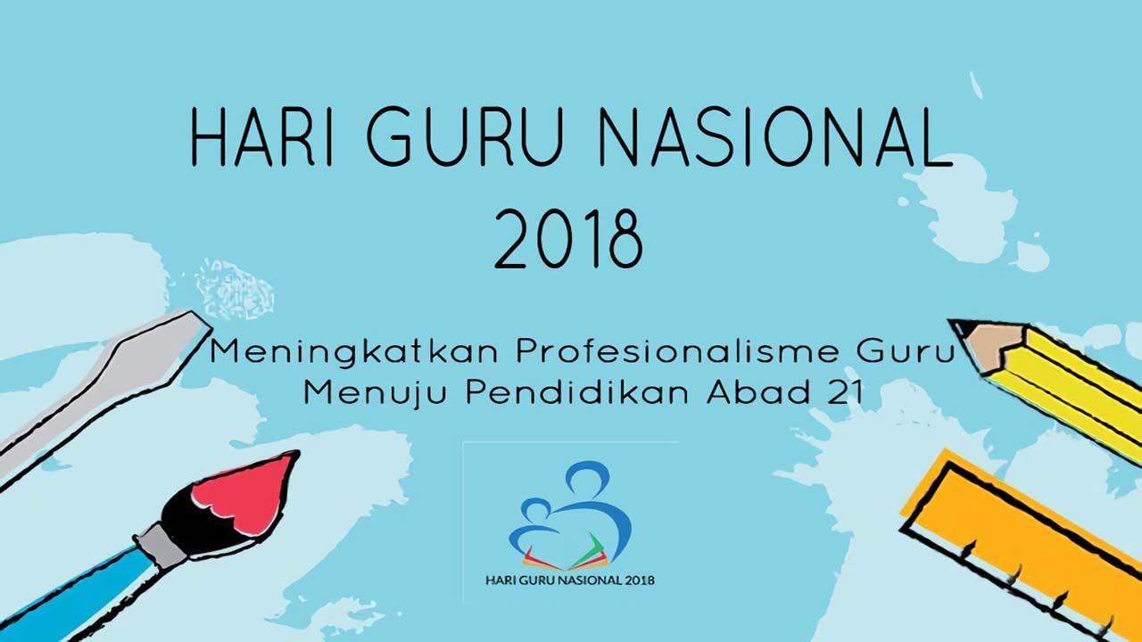 Pedoman Upacara Bendera Hari Guru Nasional 2019