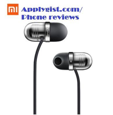 Original Xiaomi Capsule Earphone Piston Silicone Earbuds