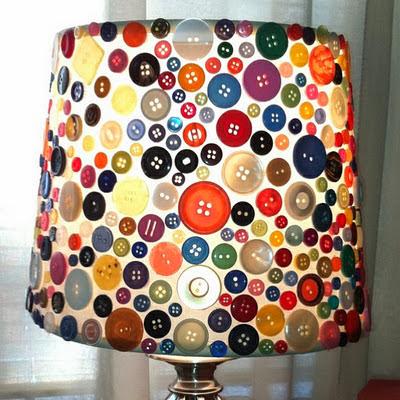 ideias de decoração de casa com botoes