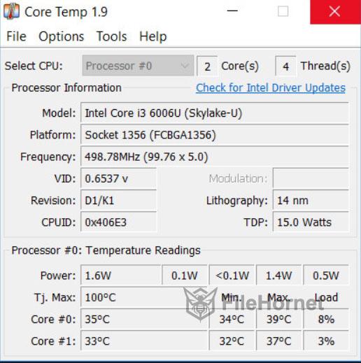 Download Core Temp 2019 for Windows
