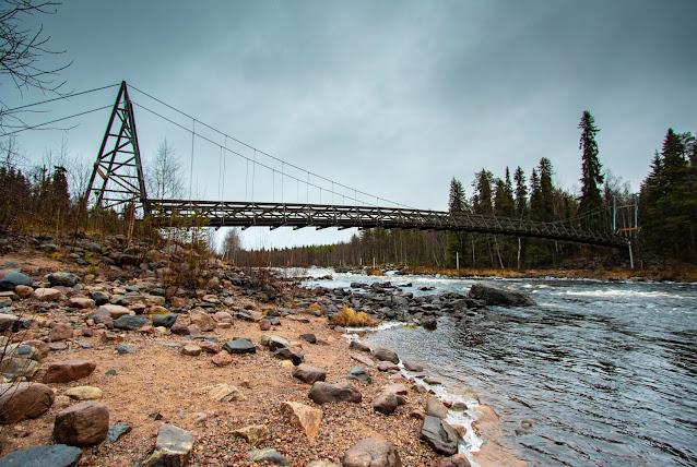 Vikaköngäs-Dintorni di Rovaniemi