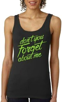 "Women's ""Don't You Forget About Me"" 80s Tank Top"