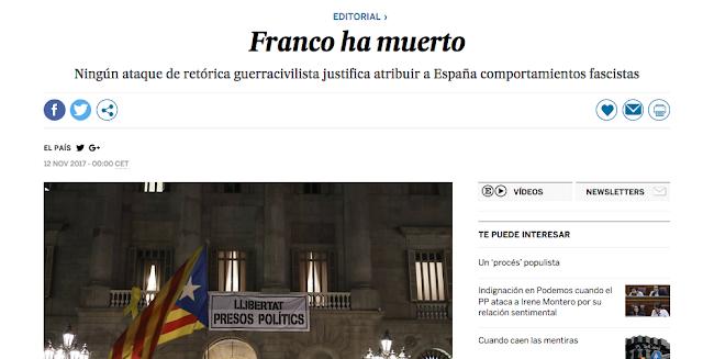 """Juan Carlos Monedero:  """"Sí, todavía franquismo"""""""