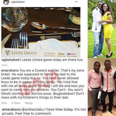Amara Kanu Calls Out Brother-inlaw Ogbonna On Instagram