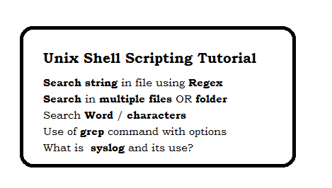 Unix Shell Scripting Tutorial - page 6