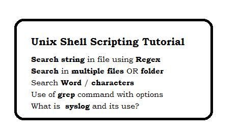 Unix Shell Scripting Tutorial - page 6