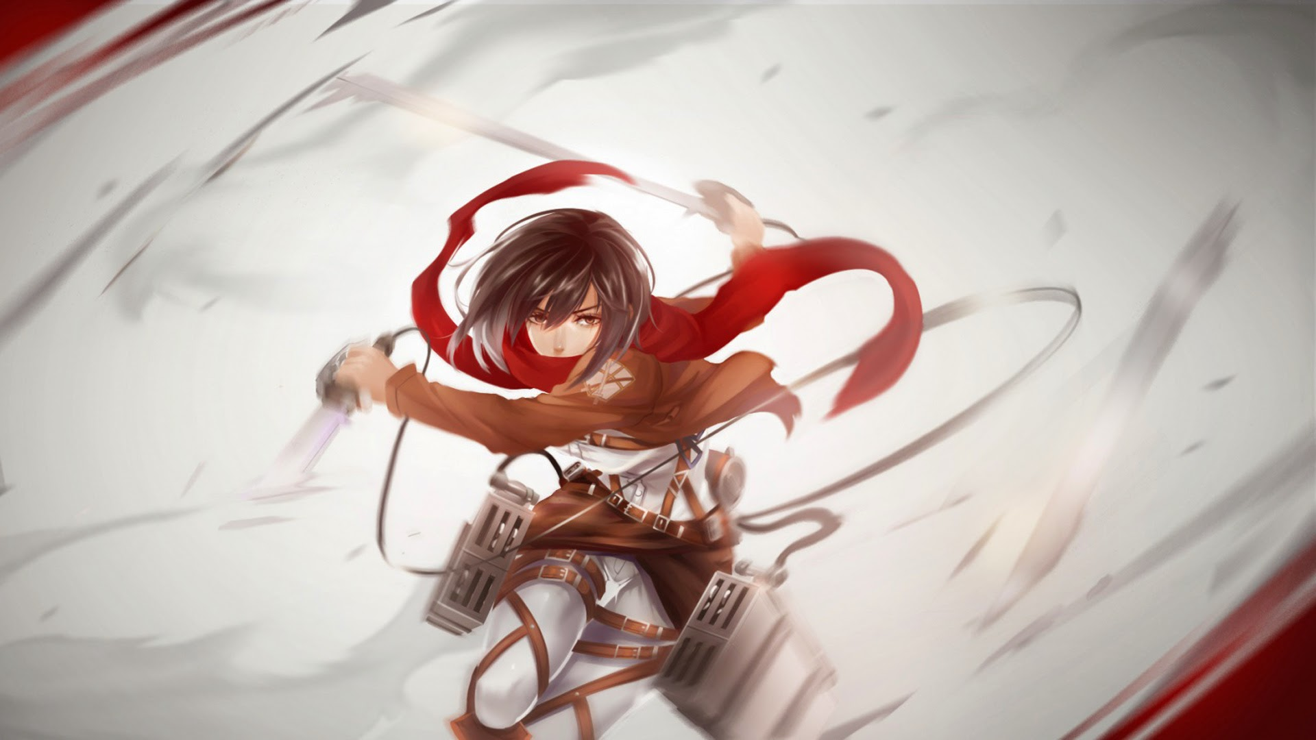wallpapers mikasa ackerman hd - photo #24